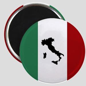 Italian Flag & Boot Magnets