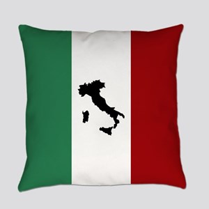 Italian Flag & Boot Everyday Pillow