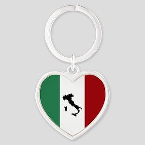 Italian Flag & Boot Keychains