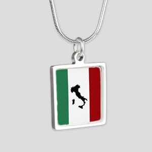 Italian Flag & Boot Necklaces