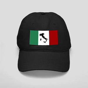Italian Flag & Boot Baseball Hat