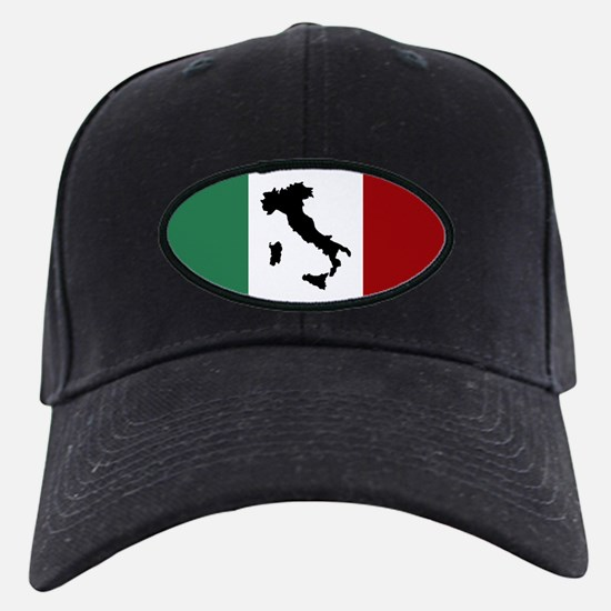 Italian Flag & Boot Baseball Hat