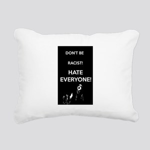 HATE EVERYONE Rectangular Canvas Pillow