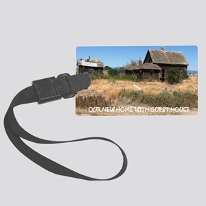 New Home with Guest House Large Luggage Tag