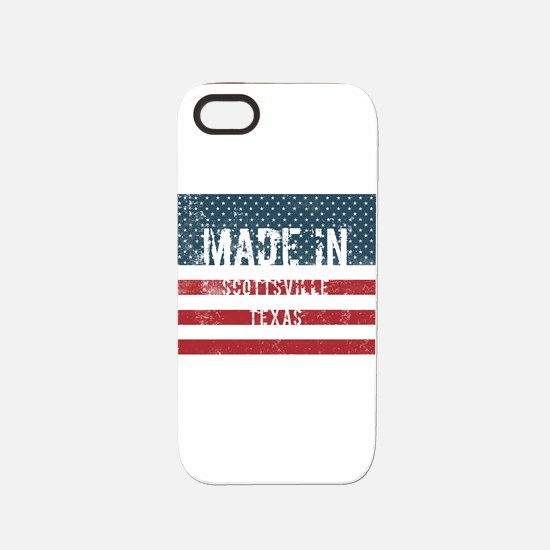 Made in Scottsville, Texas iPhone 5/5S Tough Case