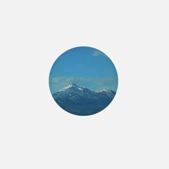 Mt. Shasta Mini Button