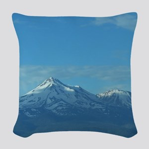 Mt. Shasta Woven Throw Pillow
