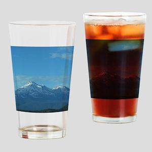 Mt. Shasta Drinking Glass