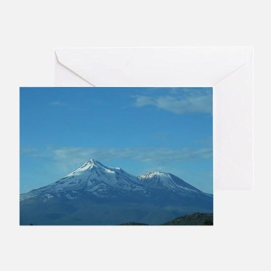 Mt. Shasta Greeting Card