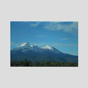 Mt. Shasta Rectangle Magnet