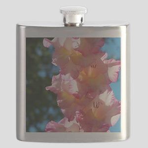 Gladiolas Flask