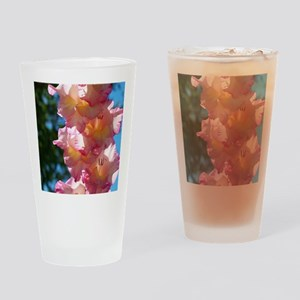 Gladiolas Drinking Glass