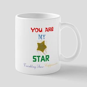 YOU ARE MY STAR. STAR DESIGN. Mugs