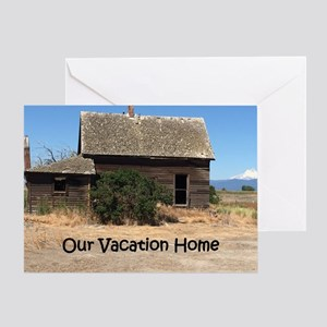 Vacation Home Greeting Card