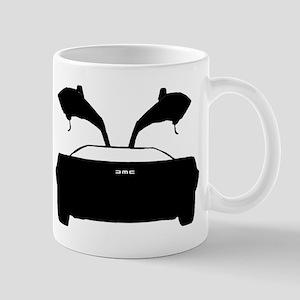 DMC 12 Black Mugs