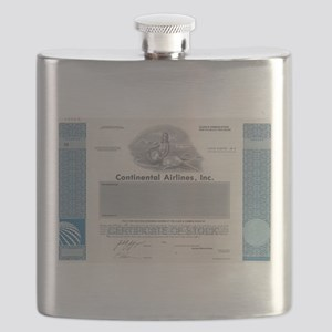 Continental Airlines Flask