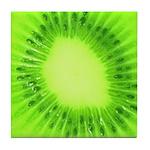 Green Kiwi Art Tile