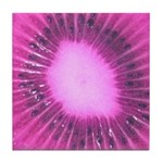 Purple Kiwi Art Tile