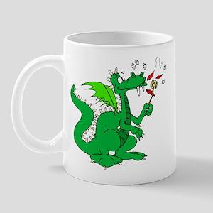 Roasting Marshmallows Dragon Mug