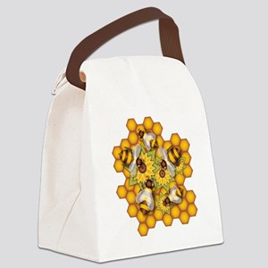 Honeybees Canvas Lunch Bag