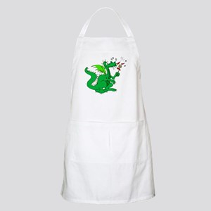 Roasting Marshmallows Dragon BBQ Apron