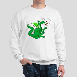 Roasting Marshmallows Dragon Sweatshirt