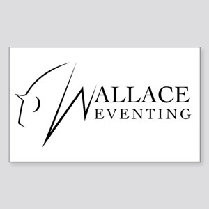 Wallace Eventing Sticker (rectangle)