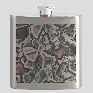 Fractal Collage Flask