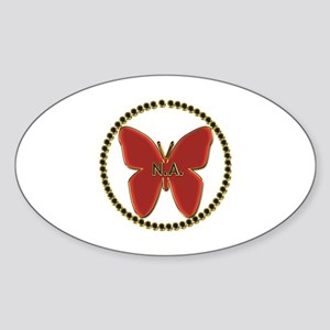 Narcotics Anonymous Symbol Sticker (Oval)