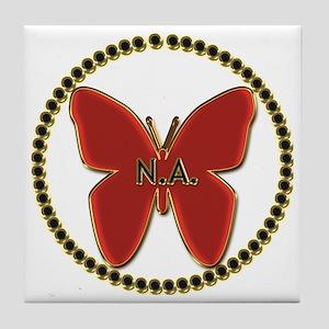 Narcotics Anonymous Symbol Tile Coaster