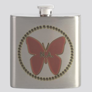 Narcotics Anonymous Symbol Flask