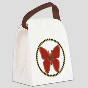 Narcotics Anonymous Symbol Canvas Lunch Bag