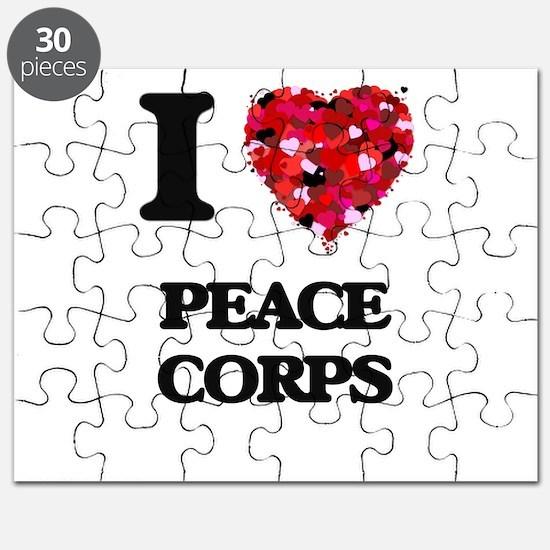 I Love Peace Corps Puzzle