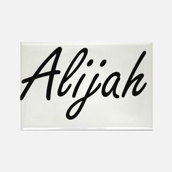 Alijah Artistic Name Design Magnets