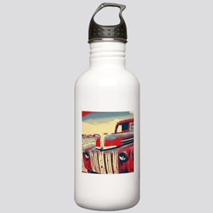 Americana retro old tr Stainless Water Bottle 1.0L