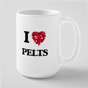 I Love Pelts Mugs