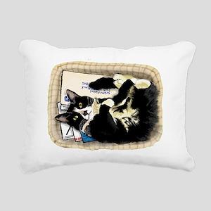 Gator Got Mail Rectangular Canvas Pillow