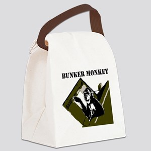 Bunker Monkey Canvas Lunch Bag