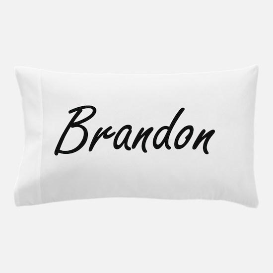 Brandon Artistic Name Design Pillow Case