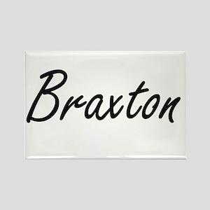 Braxton Artistic Name Design Magnets