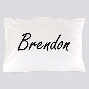 Brendon Artistic Name Design Pillow Case