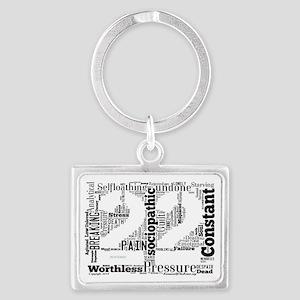 22logo Landscape Keychain