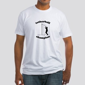 Tetherball champion -  Fitted T-Shirt