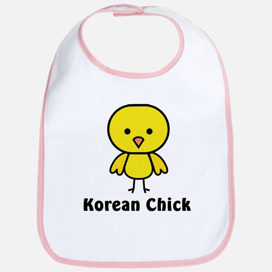 Korean Chick Bib