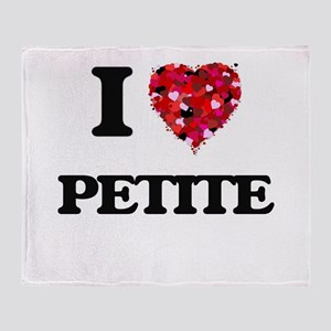 I love Petite Throw Blanket