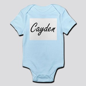 Cayden Artistic Name Design Body Suit