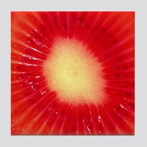 Red Kiwi Art Tile