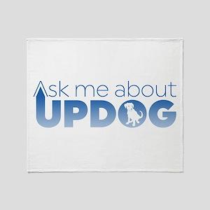 Updog? Throw Blanket