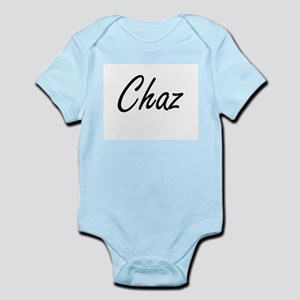 Chaz Artistic Name Design Body Suit