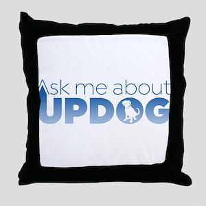 Updog Throw Pillow
